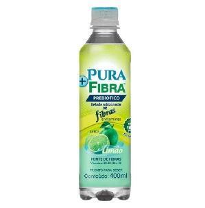 Bebida + Pura Fibra 400 ml Sabor Limão - Pura Fibra