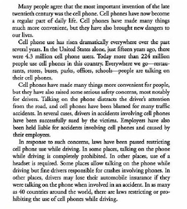 misuse of mobile phone paragraph