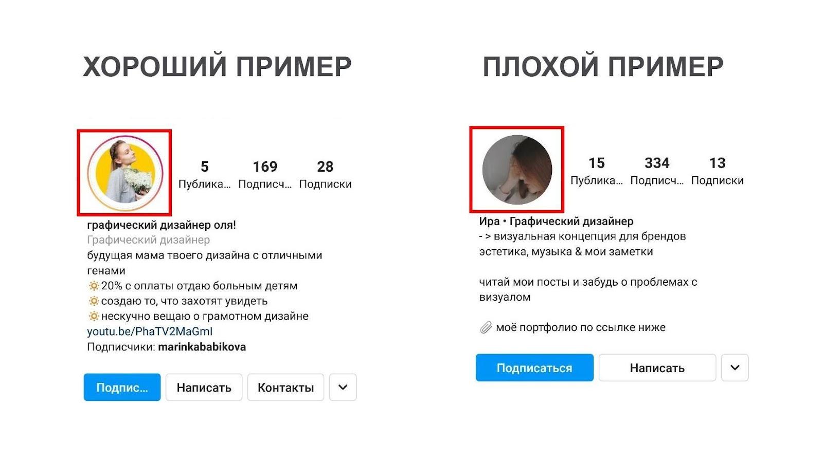 Шапка профиля в Инстаграм 2021: как оформить правильно