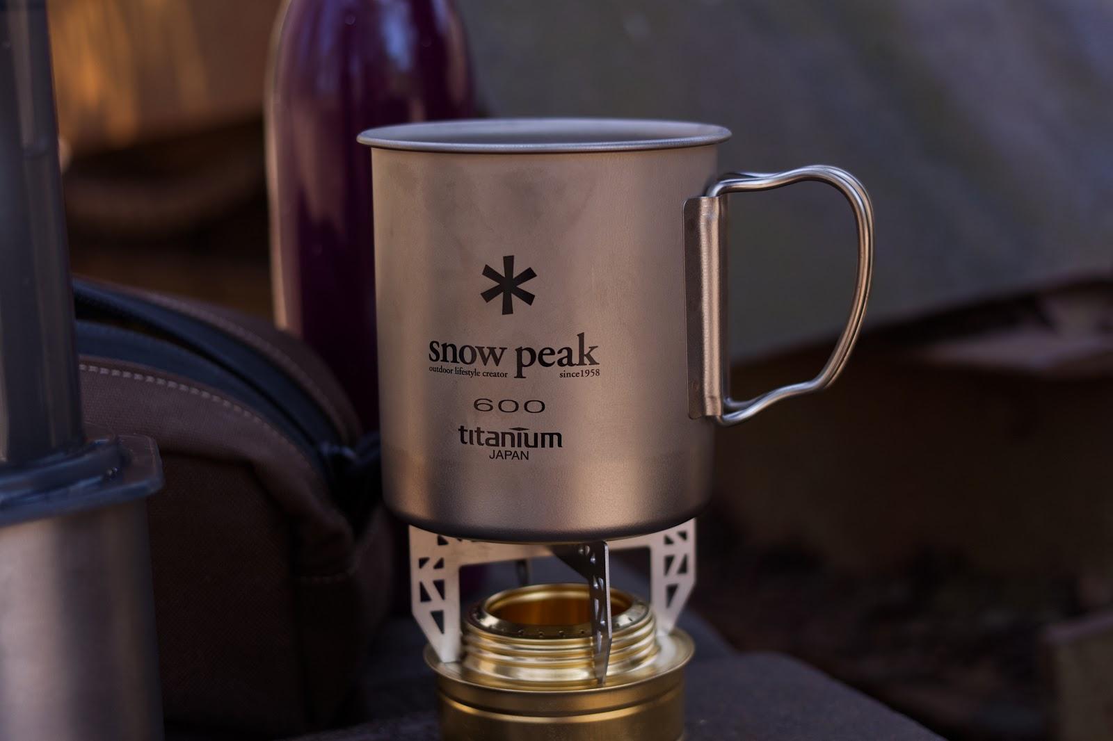Snow Peak 600 Ti-Single