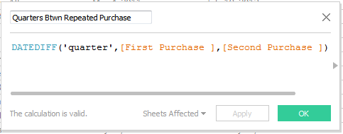 LOD in Tableau Use Case 4 - Customer Second Purchase Analysis 37