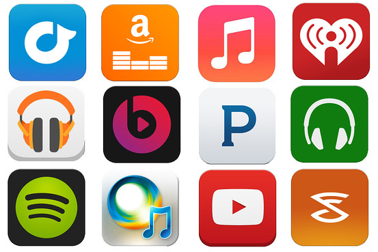 music streaming apps