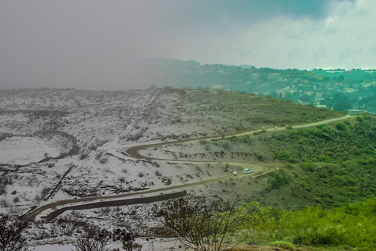 Different weathers of Fort Munro DG Khan