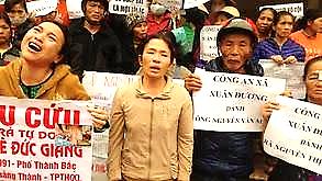 SBS Language | Dân oan khắp nơi kéo về biểu tình tại Hà Nội