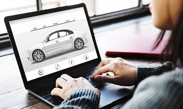 statistics of automotive e commerce