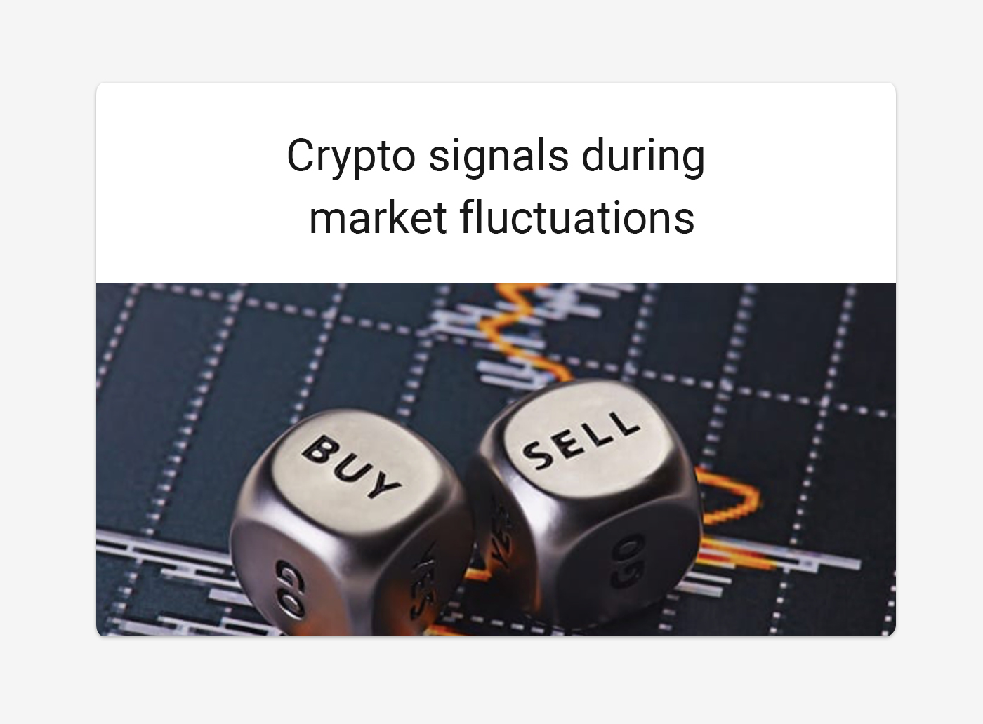 Binance crypto signals during market fluctuations
