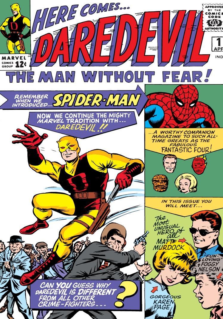 Daredevil (1964) #1   Comic Issues   Marvel