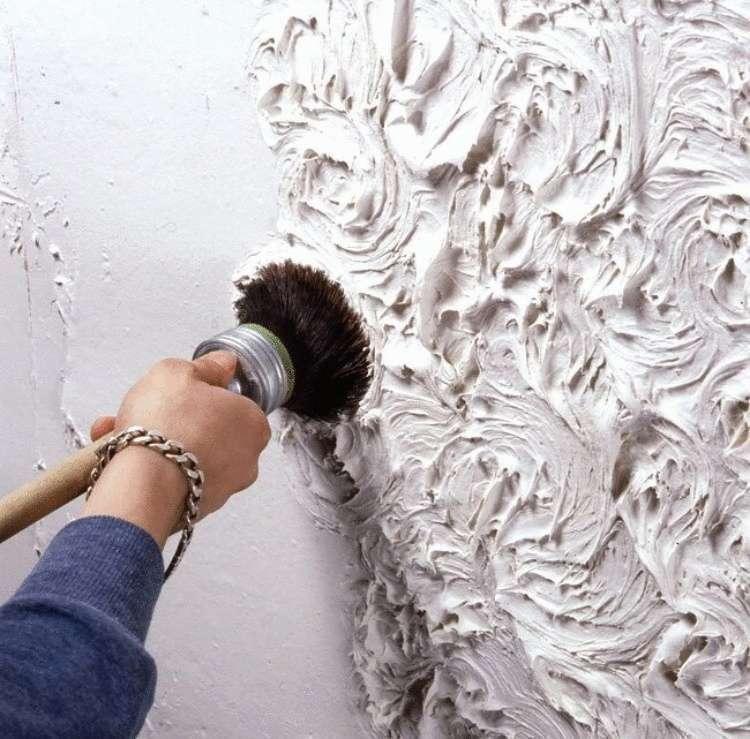 Sơn hiệu ứng Waldo-Sơn hiệu ứng thi công tạo hoa văn che vết nứt của tường