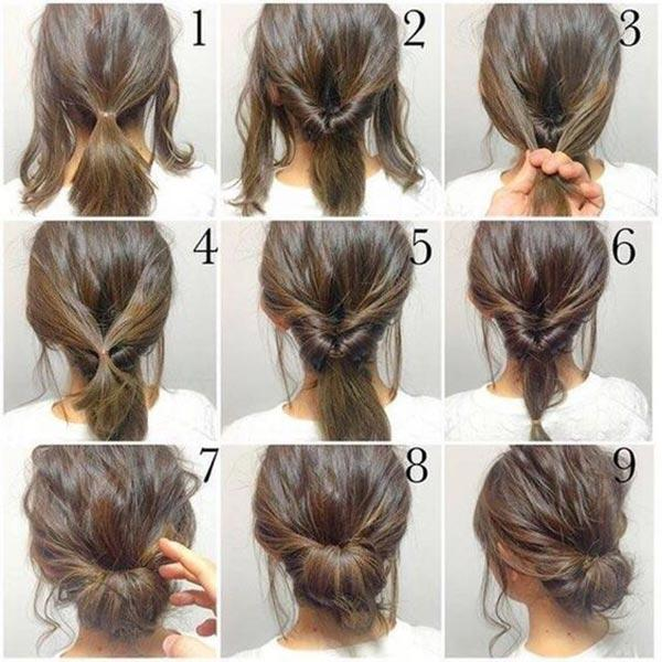 A collage of a person's hair  Description automatically generated with medium confidence