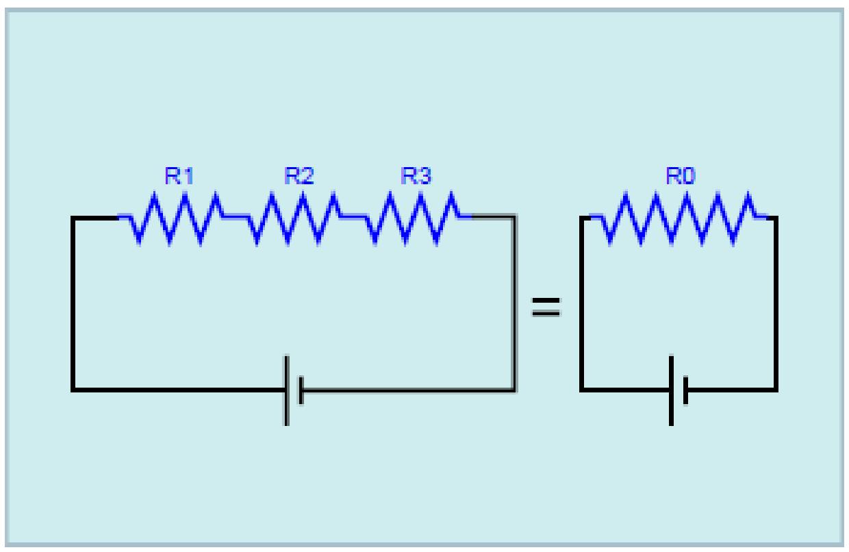 materi pendidikan diagram rangkaian seri