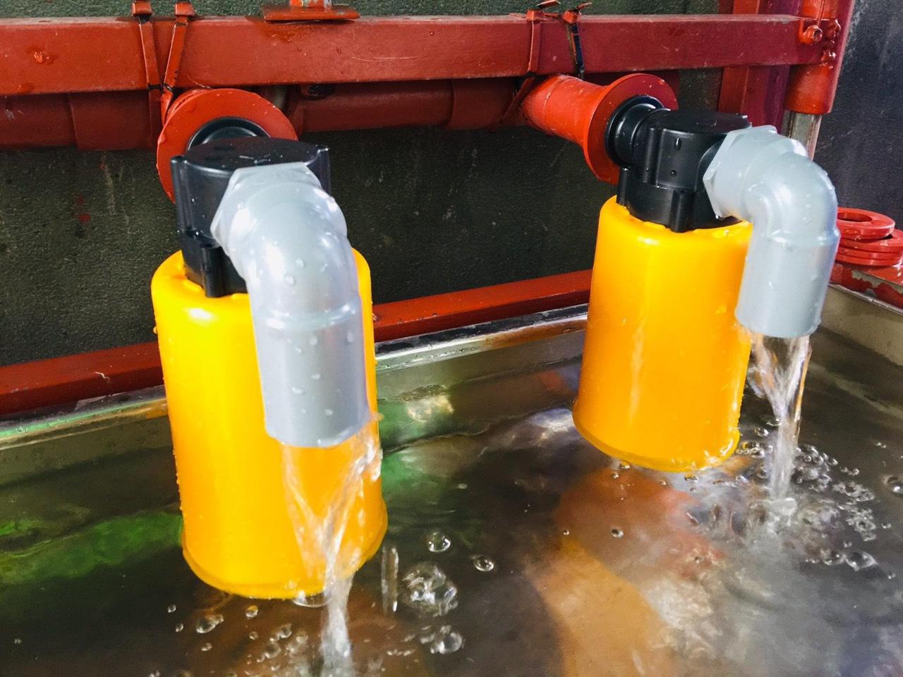 Phao cơ giúp điều chỉnh lưu lượng nước