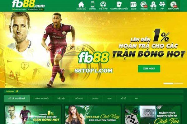 Giới thiệu nhà cái FB88 - Nhà cái cá cược bóng đá uy tín