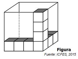 16. ¿Cuántos cubos de esos faltan para llenar la caja?