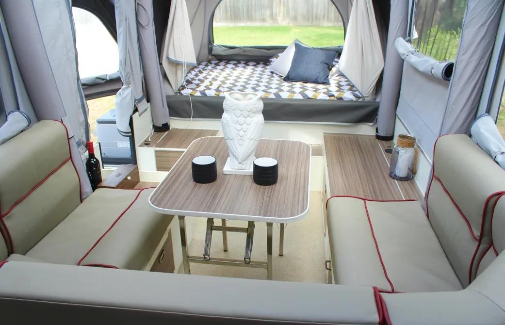 Opus Campers OP4 interior pics