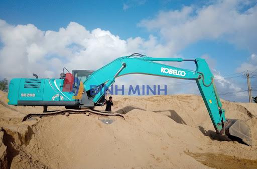 Nguyên lý hoạt động của máy xúc đào