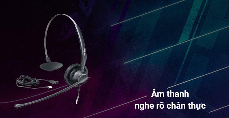Tai nghe Yealink YHS33-RJ9 | Âm thanh nghe rõ ràng chân thực