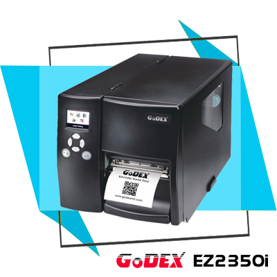 Máy in mã vạch công nghiệp GoDEX EZ2350i với hiệu suất cao sẽ đáp ứng tốt cho nhu cầu in ấn, sử dụng số lượng lớn tem nhãn của doanh nghiệp vận chuyển, logistics