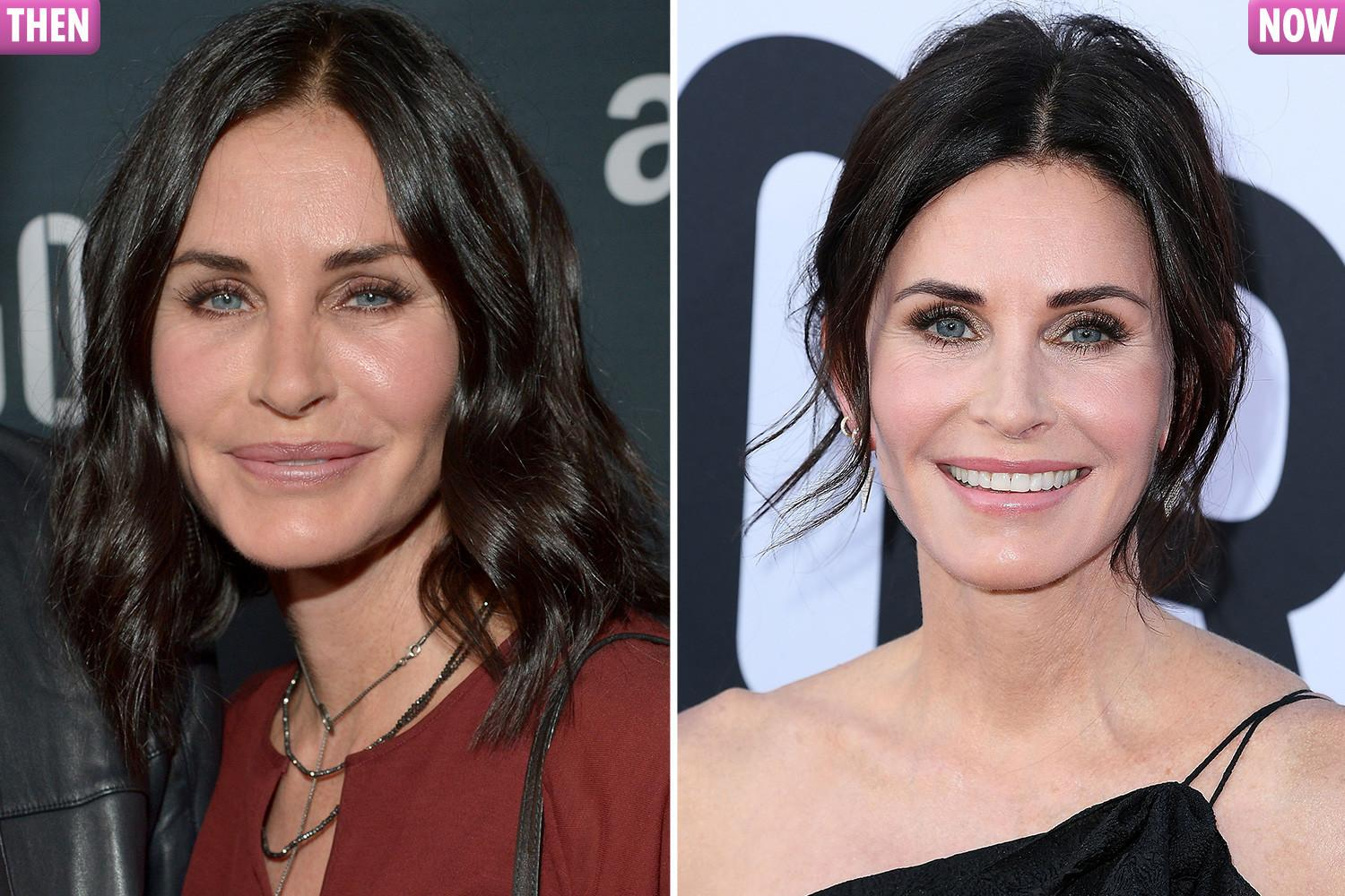 Courteney Cox says: 'I've had all my fillers dissolved. I'm as natural as can be'