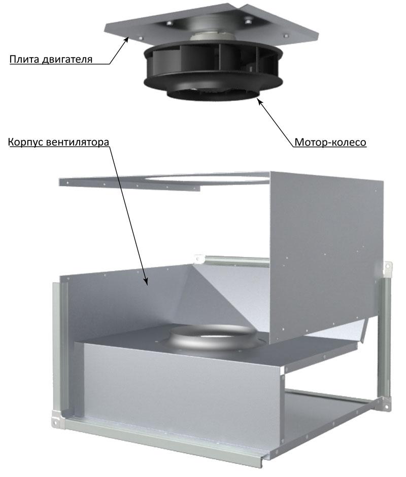 Устройство вентилятора ASF