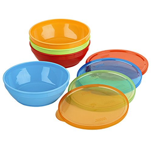NUK First Essentials Bunch-a-Bowls, Set of 4