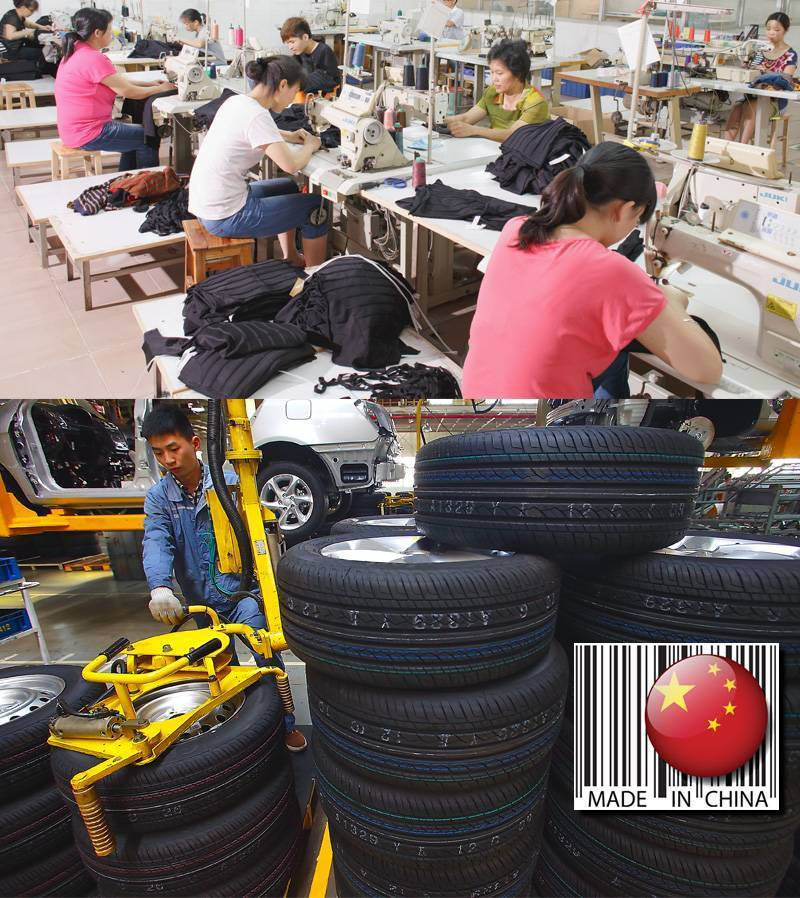 Examples of Chinese Manufacturing