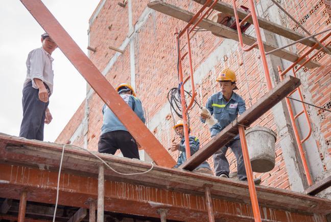 Dịch vụ xây nhà phần thô giá rẻ