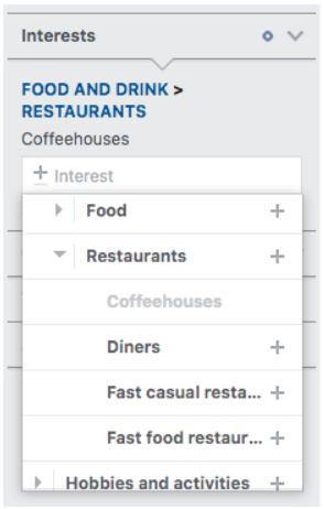 Sở thích> nhân khẩu học nhà hàng thu hẹp hơn nữa đến Coffeehouses