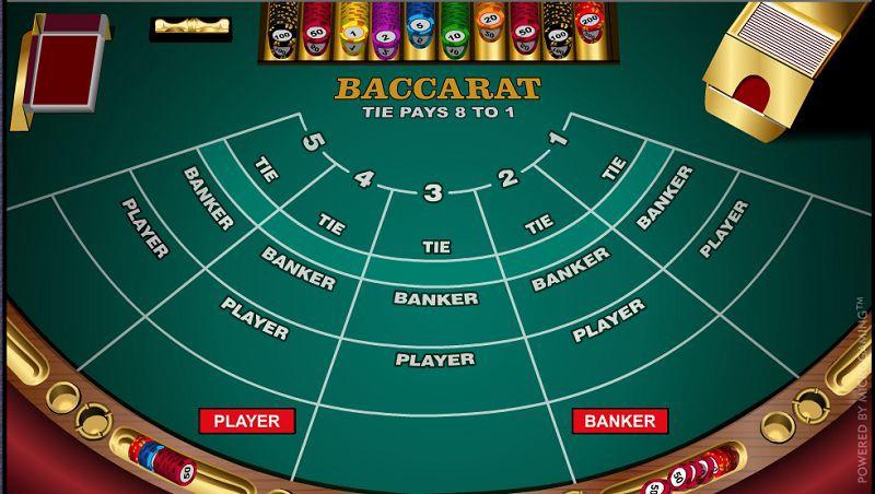 Tham gia chơi bài Baccarat và biết dừng đúng thời điểm