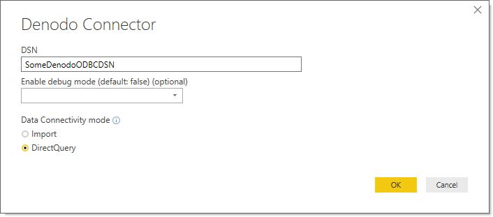 Denodo Power BI Custom Connector - User Manual