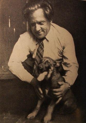 Ярослав Галан із собакою. Фото А. Кузіна