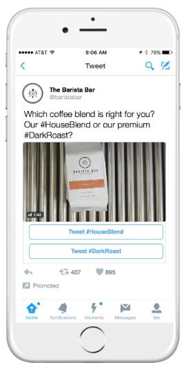 Пример общения с клиентами  в Твиттере