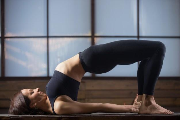 Yoga to reduce thighs