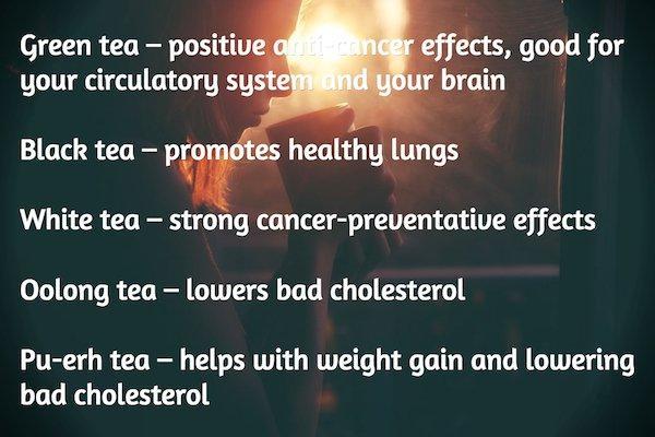 The best teas