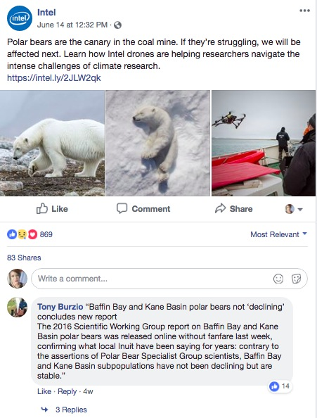 Facebook-reach-polar-bears