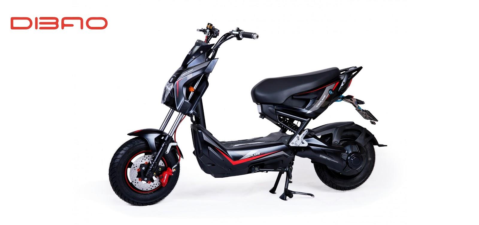 Xe máy điện Dibao Xmen New S sở hữu thiết kế nhỏ gọn