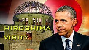 Billedresultat for obama hiroshima visit