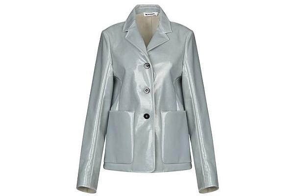Jil Sander Suit Jacket in Grey from Yoox
