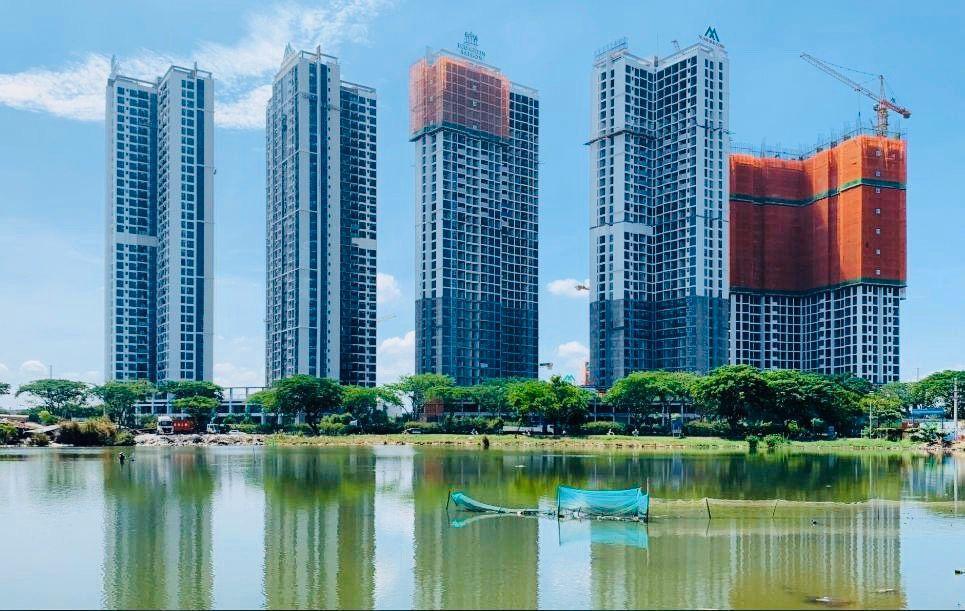 Tiến độ thi công Eco Green Sài Gòn