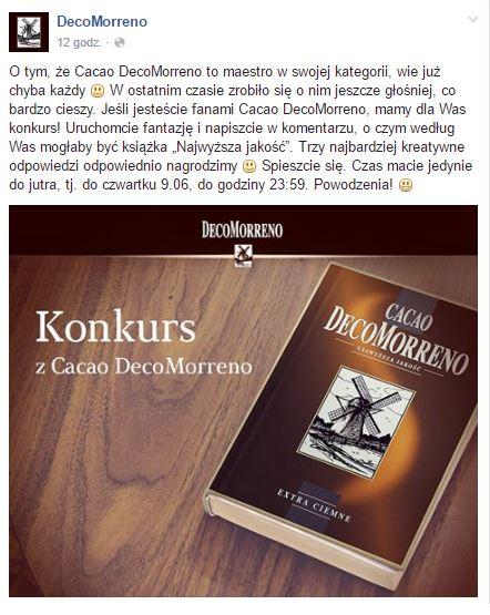DecoMorreno konkurs