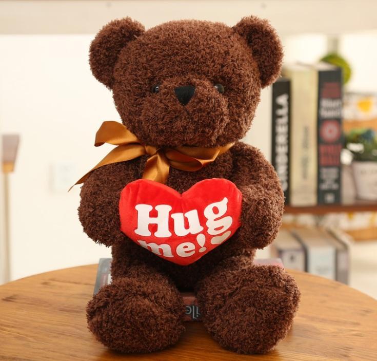gau bong teddy hug me 3 tai shop qua yeu thuong