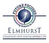 Elmhurst D205 Logo