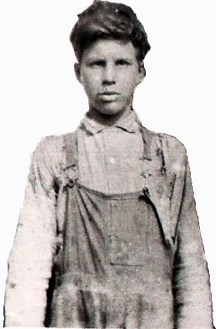 Roy Davis Tate age appox 15.png