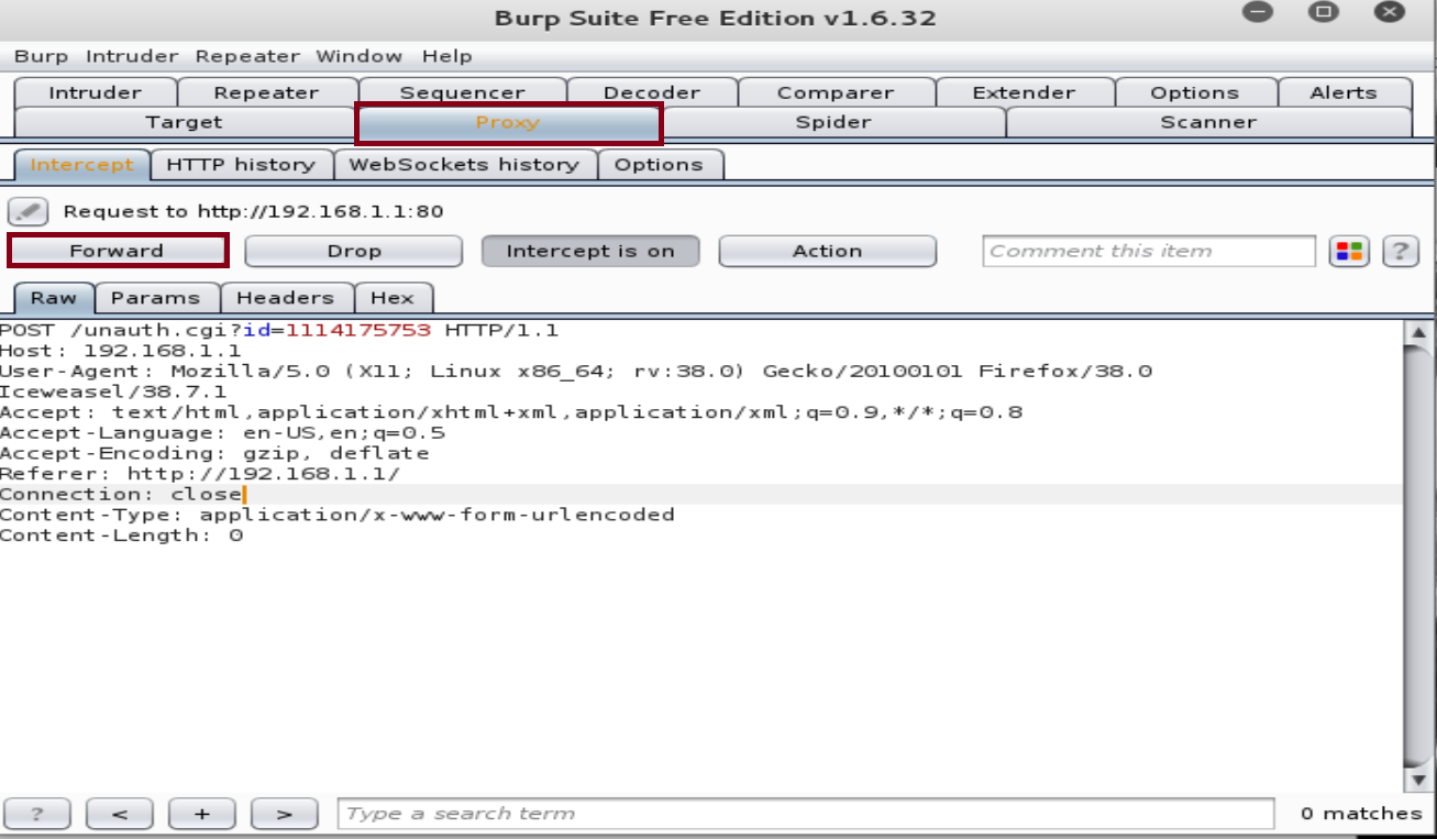 Pentesting Routers - Dictionary Attack with Burp Suite - Cybrary