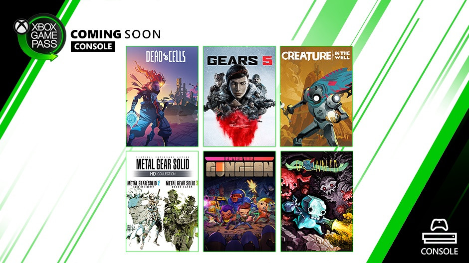 Xbox Game Pass Console September