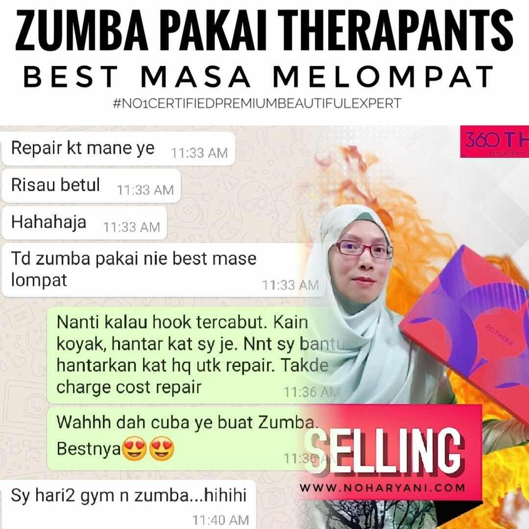testimoni Therapant Thera pants Premium Beautiful Harga Murah Cara dapatkan Legging HAIO