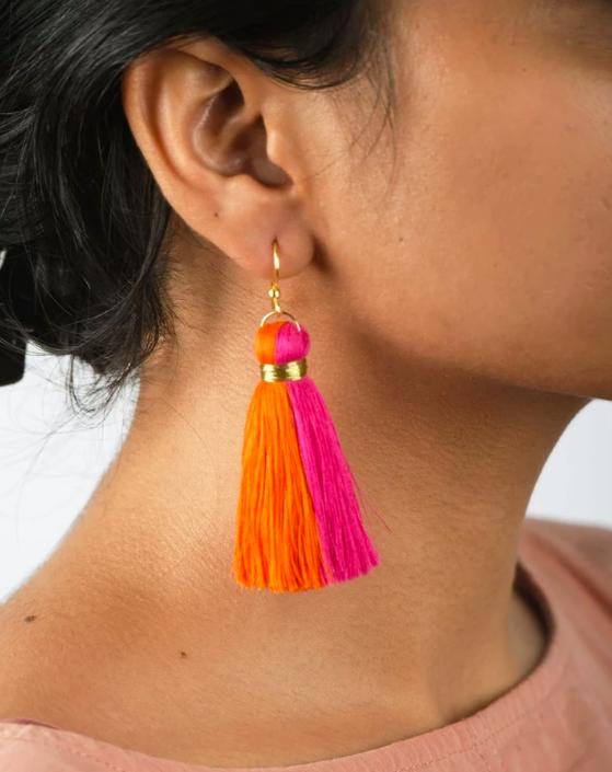 artisan craft earrings