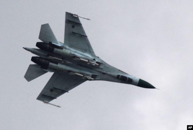Український винищувач Су-27