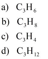 condensed formula of alkane