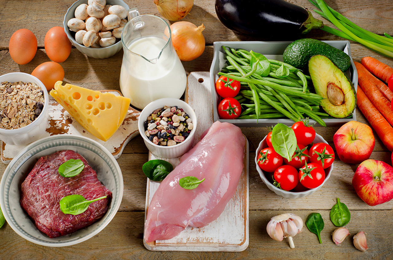 Eggs, dairy and meat products offer omega-3 fatty acids.
