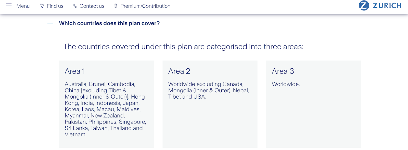 Zurich Travel Insurance Malaysia
